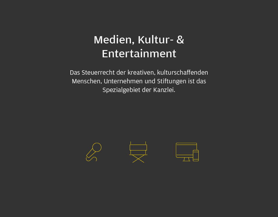 Medien, Kultur- & Entertainment